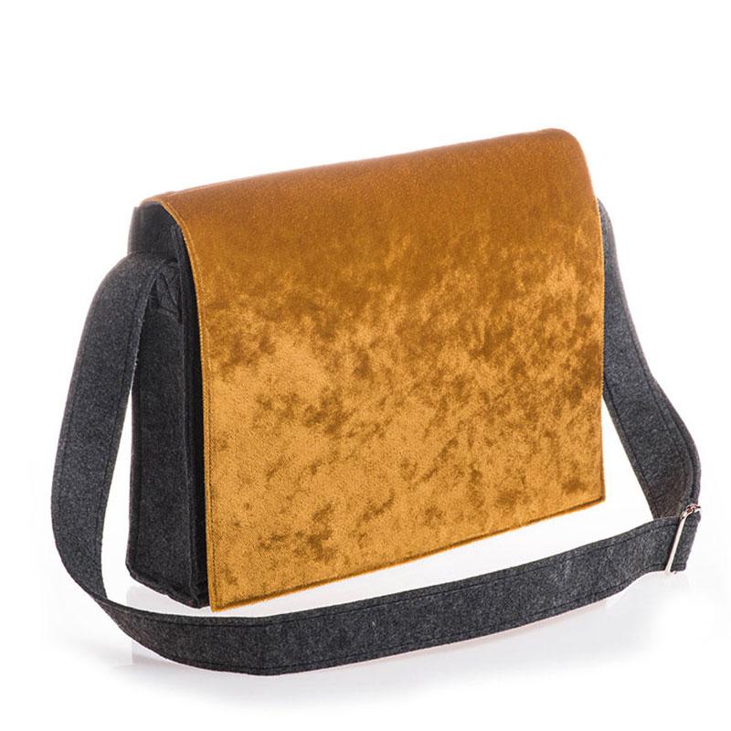 Silky Velvet Gold (bag)