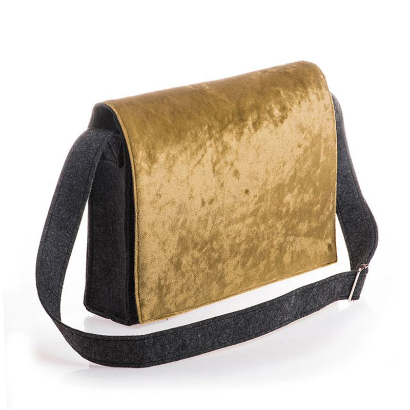 Silky Velvet Green (bag)