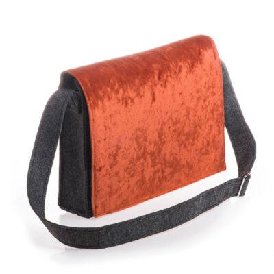 Silky Velvet Orange (bag)