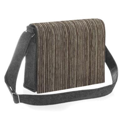 Stripes Tease Brown Bag